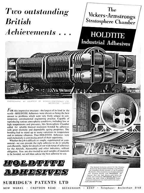 Surridges Patents - HOLDITE Adhesives & Sealants.