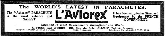 L'Aviorex Parachutes