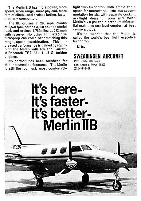 Swearingen Merlin IIB
