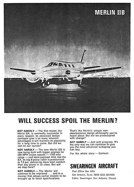 Swearingen Merlin IIA