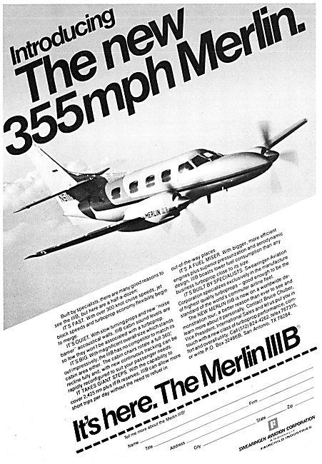Swearingen Merlin IIIB
