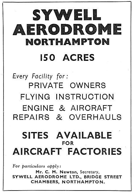 Sywell Aerodrome Facilities