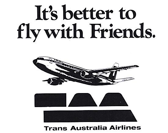 TAA. Trans Australia Airlines
