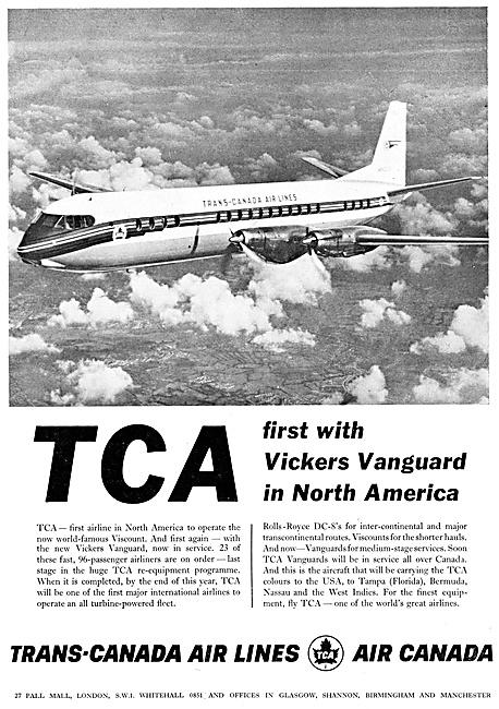 TCA: Trans-Canada Airlines 1961