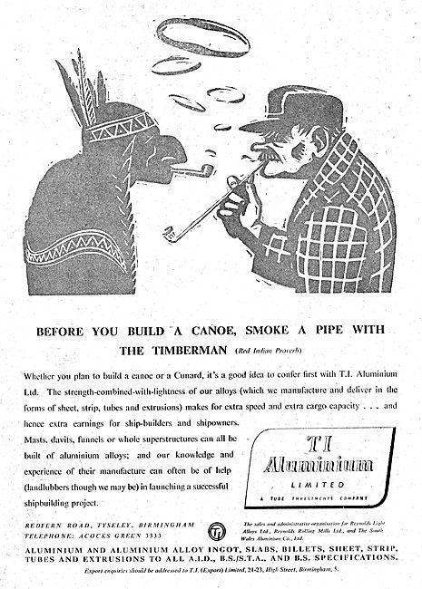 T.I. Aluminium : Billets, Slabs, Founders. Rolling Mill