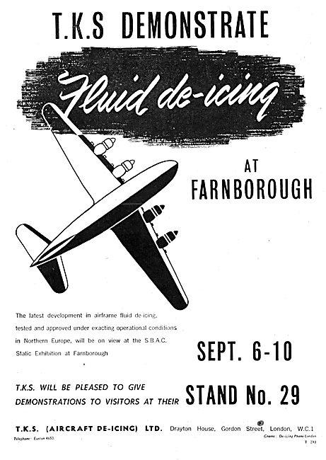 TKS Aircraft De-Icing Systems 1950