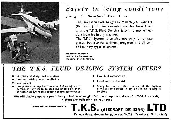 TKS Fluid De-Icing Systems