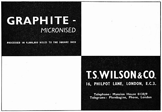 T.S.Wilson Micronised Graphite Filters