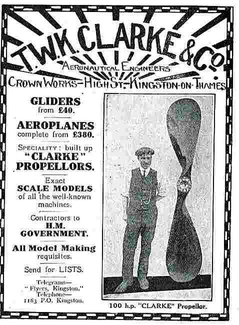 T.W.K. Clarke Aeronautical Engineers