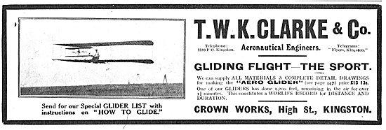 T.W.K. Clarke: Gliding Flight - The Sport