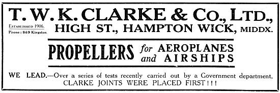 T.W.K.Clarke Propellers