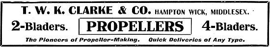 T.W.K. Clarke - Pioneers Of Propeller  Making