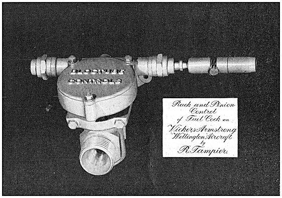 Tampier Fuel Cock - Control Line Equipment