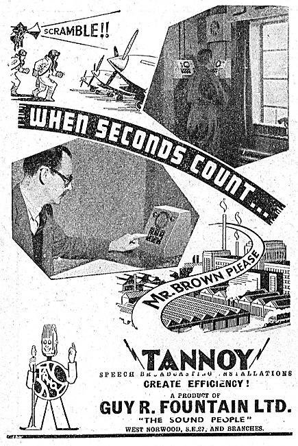 Tannoy Public Adress & Broadcast Equipment