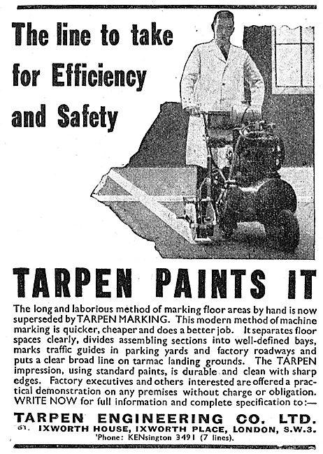 Tarpen Engineering Factory Floor Paint Marking Machines