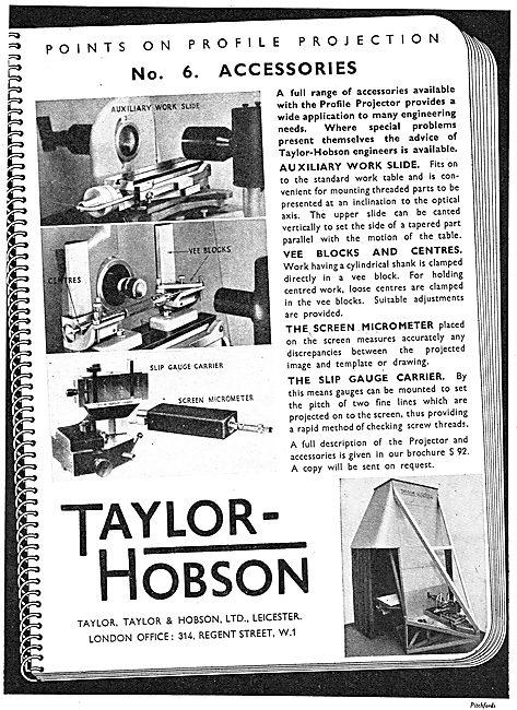 Taylor Hobson Profile Projector