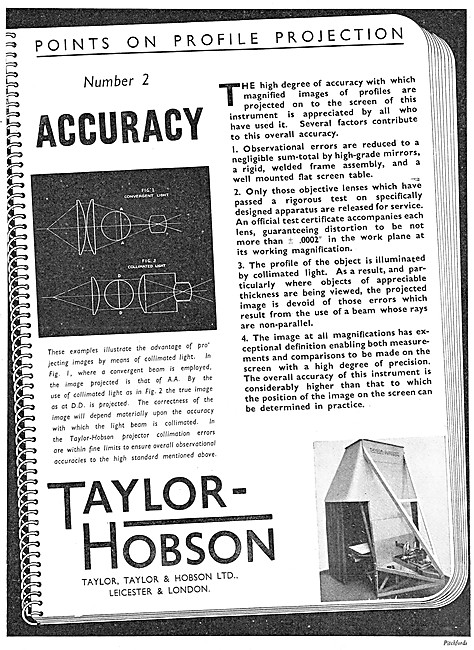 Taylor Hobson Engineering Inspection & Test Equipment
