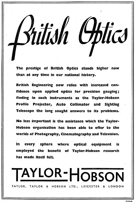 Taylor Hobson Optical Inspection & Test Equipment