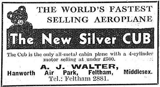 Taylor Silver Cub - A.J.Walter