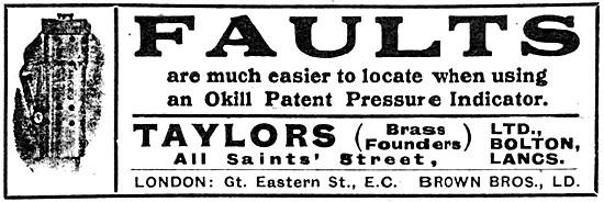 Taylors OKILL Patent Pressure Indicator