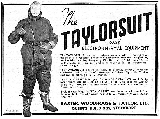 Baxter Woodhouse & Taylor Electro Thermal Taylorsuit.