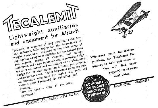 Tecalemit Aircraft Lubrication Accessories