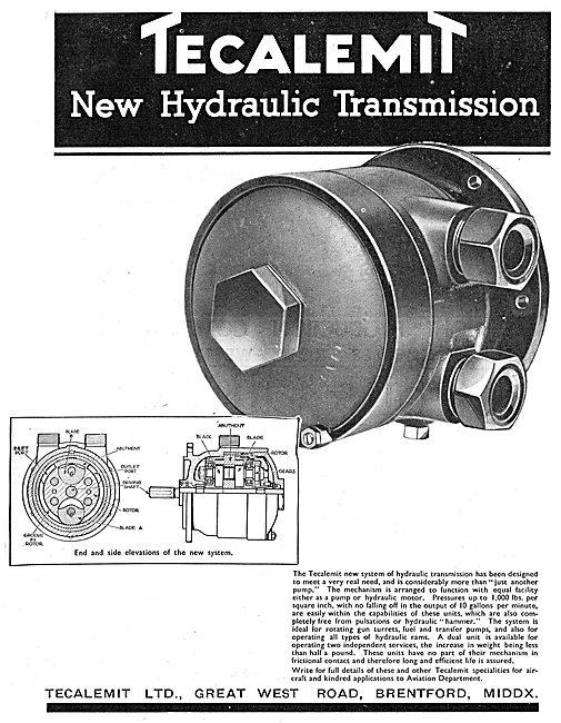 Tecalemit Hydraulic Motor - Hydraulic Transmission