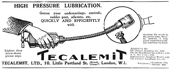 Tecalemit High Pressure Lubrication Gun
