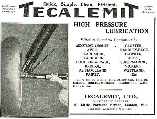 Tecalemit High Pressure Lubrication