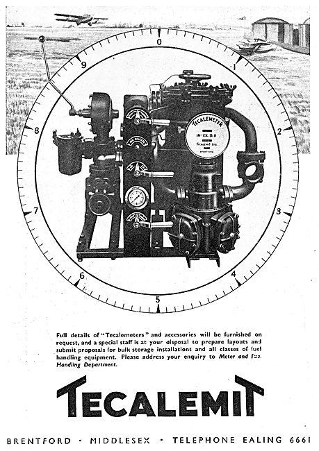 Tecalemit TECALEMETER Aircraft Refuelling Meter