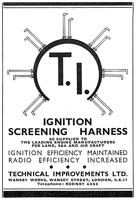 Technical Improvements Ltd. Ignition Screening Harnesses
