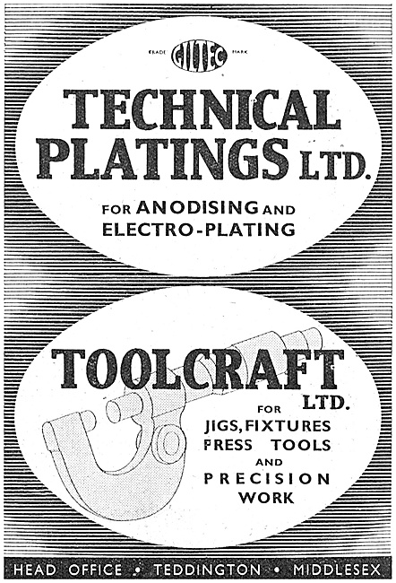 Technical Platings  Anodising & Electro-Plating Service 1940