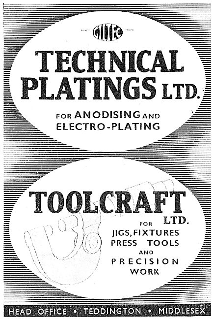 Technical Platings  - Giltec. Electro Plating. Anodising 1941