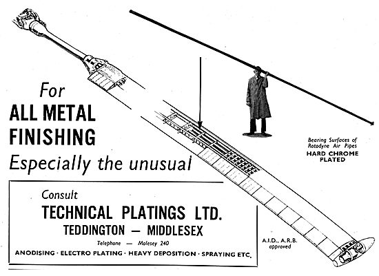 Technical Platings - Electro Plating, heavy Deposition & Spraying