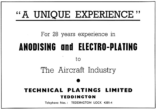 Technical Platings Anodising & Electro-Plating