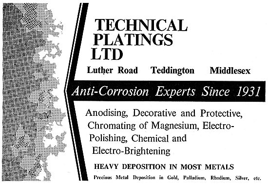 Technical Platings - Aircraft Anti-Corrosion Treatments