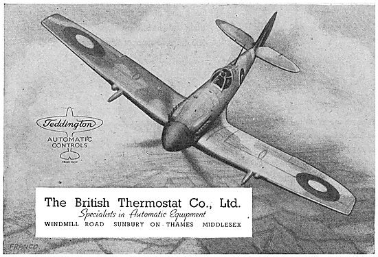British Thermostat  - Teddington Automatic Controls