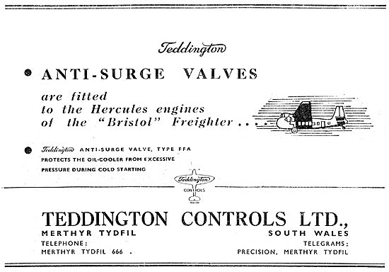 Teddington Controls - Anti-Surge Valves