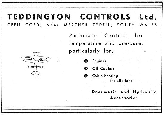 Teddington Automatic Controls - Pneumatic & Hydraulic Accessories