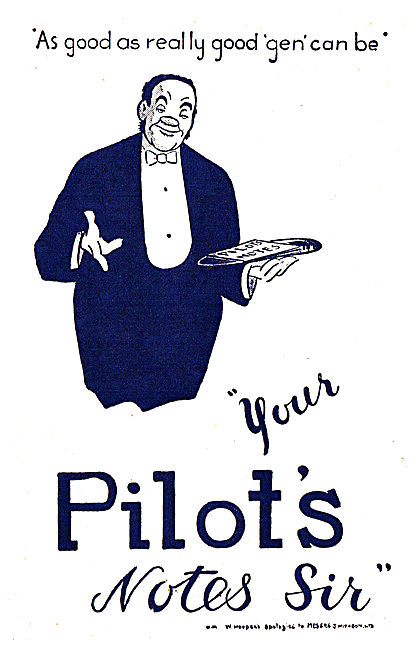 Tee Emm Pilots Notes Spoof Ads