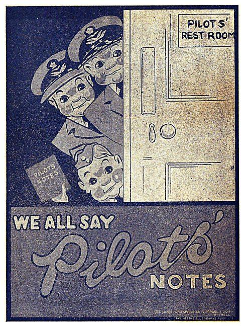 Tee Emm Pilots Notes Spoof Ads - Allenburys Foods