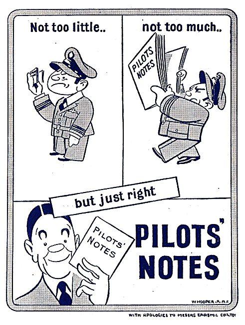 Tee Emm Pilots Notes Spoof Ads - Earasmil
