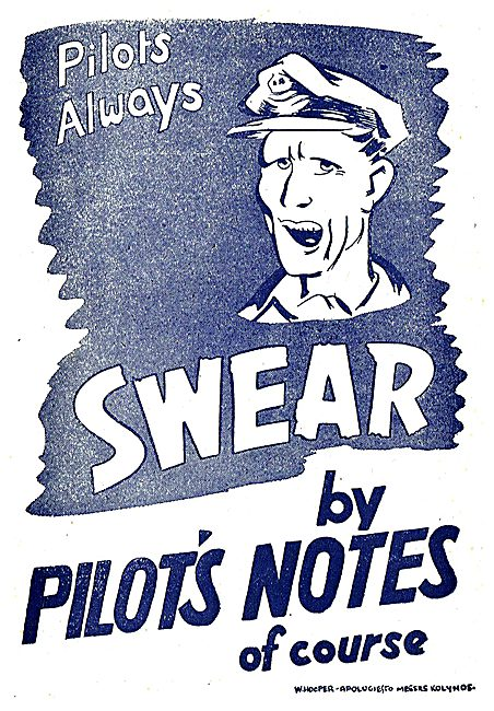 Tee Emm Pilots Notes Spoof Ads - Kolynos