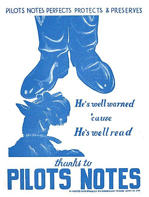 Tee Emm Pilots Notes Spoof Ads - Kiwi Shoe Polish