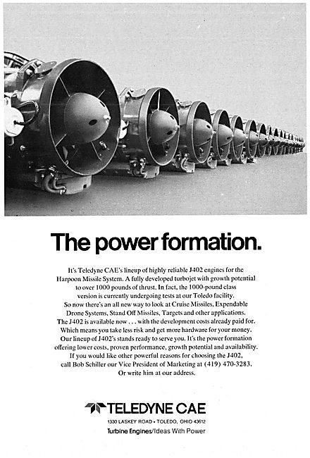 Teledyne CAE J402 Aero Engine