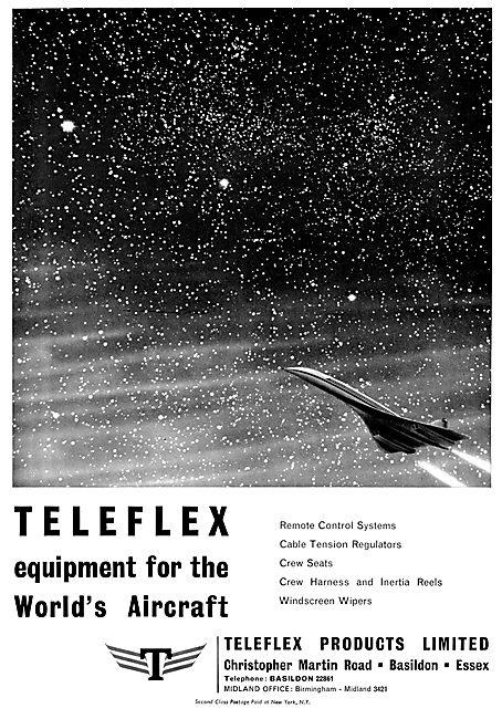 Teleflex Controls & Crew Seats