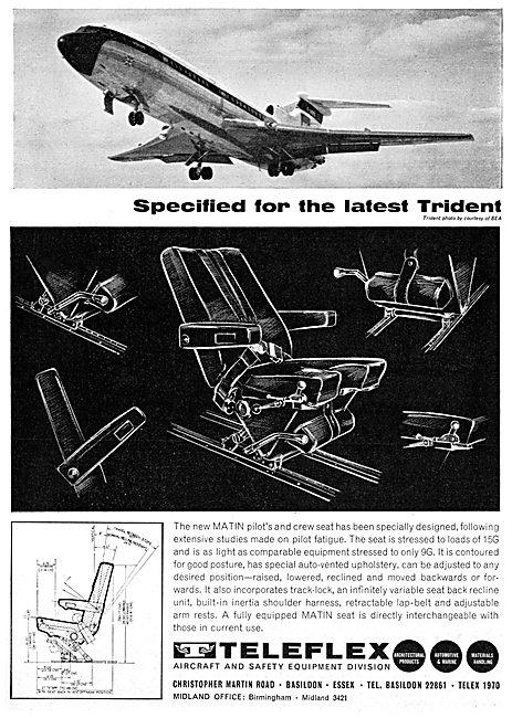 Teleflex Matin Pilot's Seat