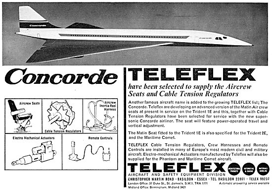Teleflex Controls - Teleflex Aircrew Seats & Fittings
