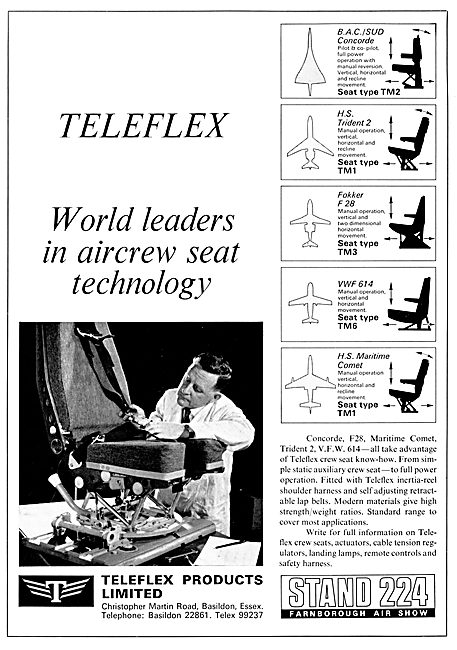 Teleflex Aircrew Seats