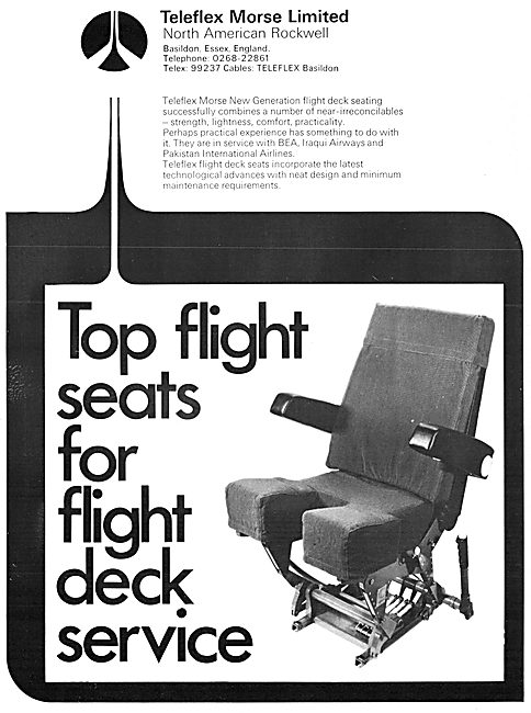 Teleflex Morse Flight Deck Seating